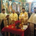 Taina Sfântului Maslu, in Capela spitatului Bolintin, de pe teritoriul parohiei noastre
