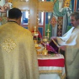 moment din sf Liturghie