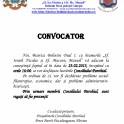 CONVOCATOR PENTRU LUCRARILE CONSILIULUI PAROHIAL